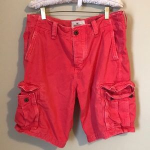 HOLLISTER SALMON CARGO SHORTS